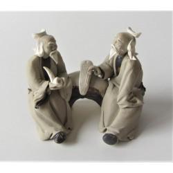 Figurines deux personnages Japonais 013B