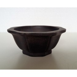 Poterie bonsai ronde diam 10.5cm haut 5cm