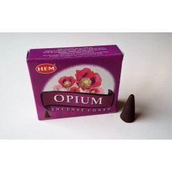 Encens indien Hem - opium - cônes