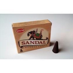 Encens indien Hem - sandal - cônes