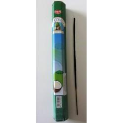 Encens Hem noix de coco 20gr. En batonnets