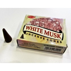 Encens Hem White Musk en Cones