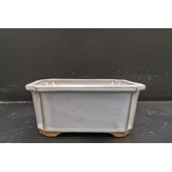 Poterie bonsai rectangulaire 13.5x10x6cm