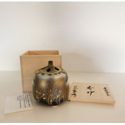 Brule-encens ou parfums japonais Bois doré Kutani