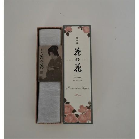 Encens naturel Japonais Hana no Hana Rose