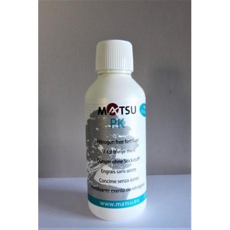 Engrais liquide spécial bonsai sans azote Matsu PK 250ml - NPK 0-10-10