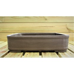 Poterie bonsai rectangulaire 43.5x33x11.5