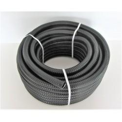 Tuyau noir 25mm - vendu au mètre