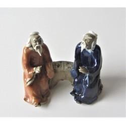 Figurines deux personnages Japonais  021B
