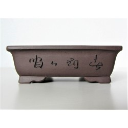Poterie bonsai rectangulaire 13x11x4.5cm
