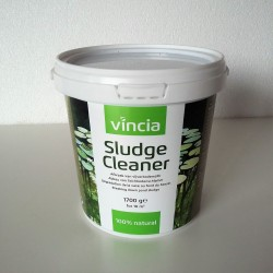 Velda vincia sludge cleaner 1700gr - 100% naturel