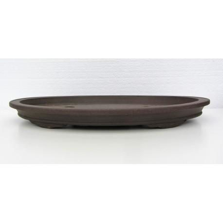 Poterie bonsai ovale 38.5x25x4