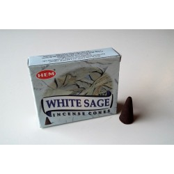 Encens indien Hem - white sage - cônes