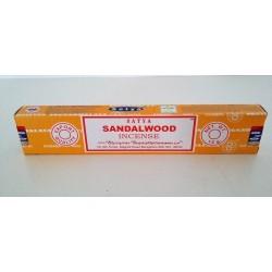 Encens Satya sandalwood 15gr. En batonnets