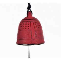 Carillon japonais en fonte rouge  Iwachu 5.5cm