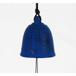 Carillon japonais en fonte bleue Iwachu 5.5cm