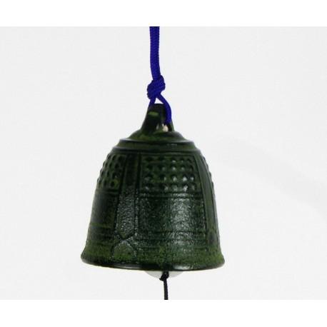 Carillon japonais en fonte verte Iwachu 5.5cm