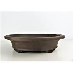 Poterie bonsai ovale 26.5x22.5x7cm