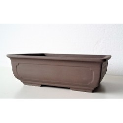 Poterie bonsai rectangulaire 28.5x21.5x8.5cm