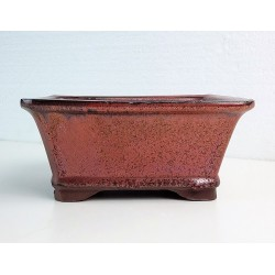 Poterie bonsai rectangulaire 15x12.5x7cm