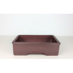 Poterie bonsai rectangulaire 30x18.5x8cm