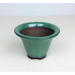 Poterie bonsai ronde évasée diam 12cm haut 8cm