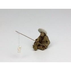 Figurine pêcheur Japonais 91B