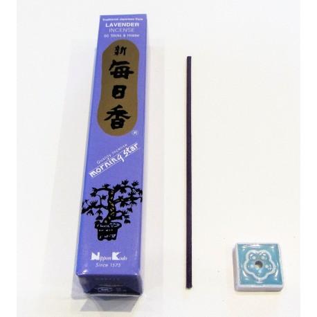 Encens japonais Morning star Lavande. 50 batonnets