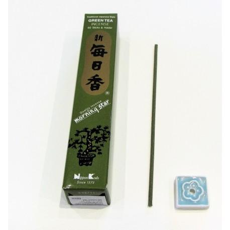Encens japonais Morning star Thé vert. 50 batonnets