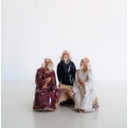 Figurines trois personnages Japonais  033B