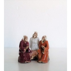 Figurines trois personnages Japonais  034B