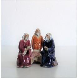 Figurines trois personnages Japonais  035B