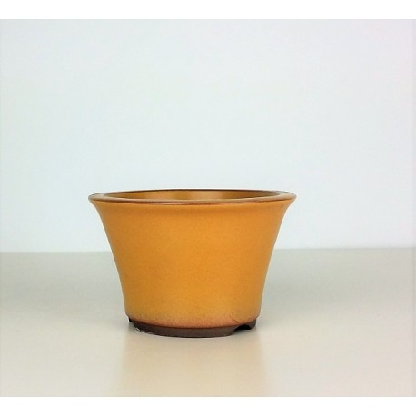 Poterie bonsai ronde diam 12.5cm haut 8cm