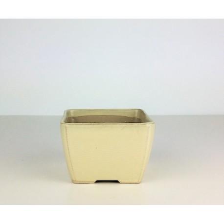 Poterie bonsai carré 9.5x9.5x6.5cm