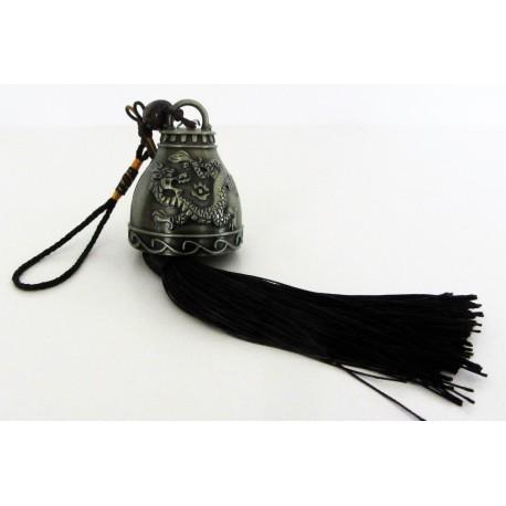 Clochette métal symbol dragon.