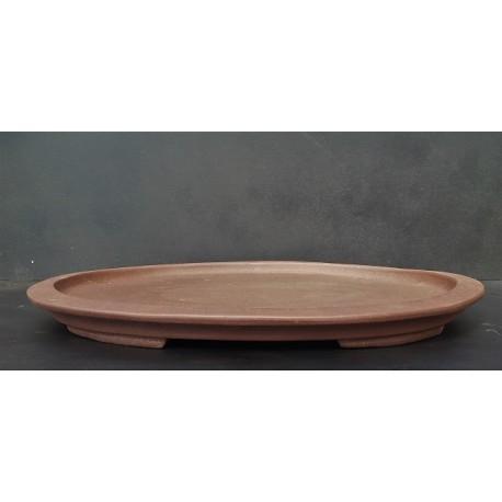Plateau ovale - soucoupe - suiban 49cm