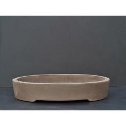 Poterie bonsai ovale 54x44x10cm