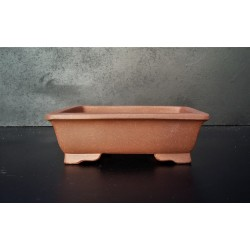 Poterie bonsai rectangulaire 13.5x11x4.5cm
