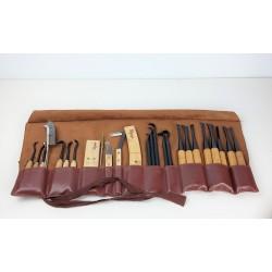 Trousse à outils complète travail du bois - Ryuga