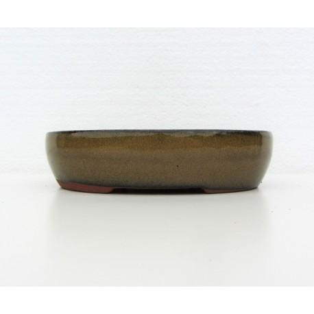 Poterie bonsai ovale 15x11.5x3,5cm