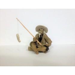 Figurine pêcheur Japonais 101B