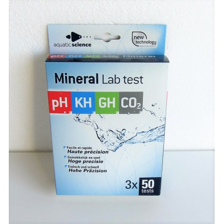 Mineral Lab Test (PH-KH-GH-CO2)