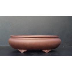 Poterie bonsai ovale 34x28x10cm