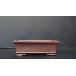 Poterie bonsai rectangulaire 25x17x7.5cm
