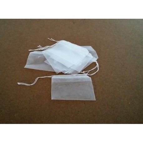 Sachet filet en nylon pour engrais - lot de 10