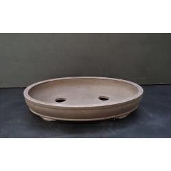 Poterie bonsai ovale 36.5x26x6.5cm