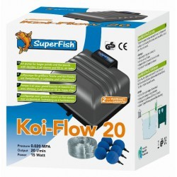 Koi flow 20 Kit à air complet