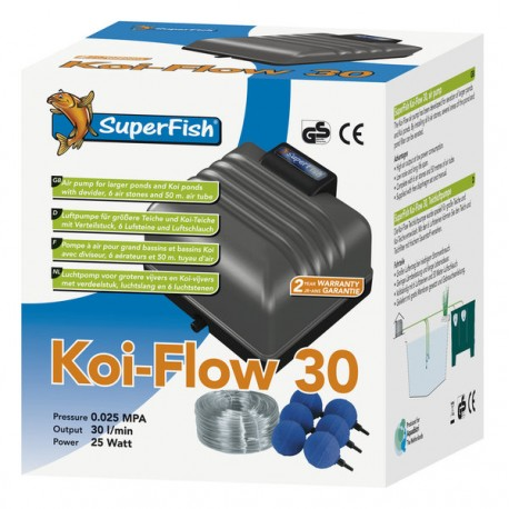 Koi flow 30 Kit à air complet