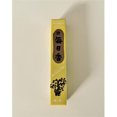 Encens japonais Morning star Patchouli. 50 batonnets