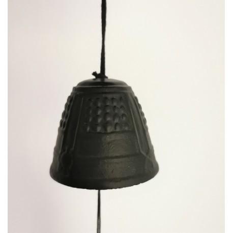 Carillon japonais en fonte noire Iwachu 5.5cm